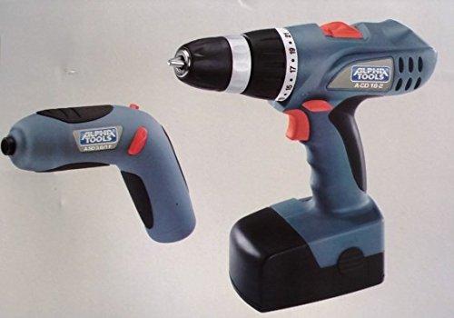 Alpha Tools A-CD 18+3,6 Kit; EX; ATm, akumulátorový šroubovák