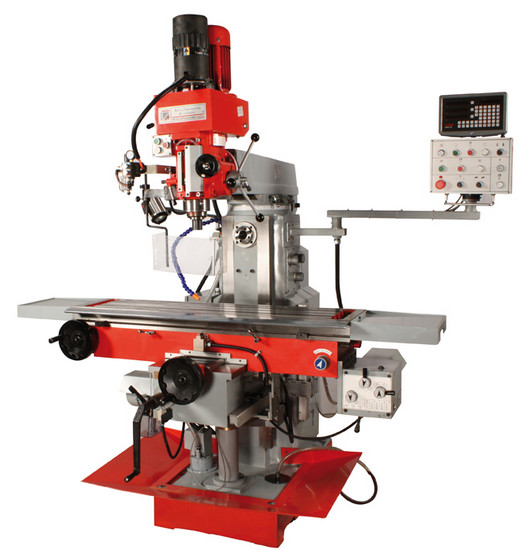 Holzmann, BF 1000DDRO (XL), Univerzální frézka Holzmann BF 1000DDRO (XL), litinový stroj