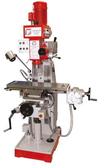 Holzmann, BF 500, Univerzální frézka Holzmann BF 500, těžký a vibrace absorbující litinový stroj