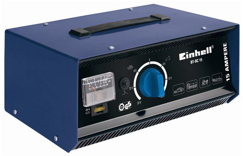 Einhell BT-BC 15, nabíječka univerzální