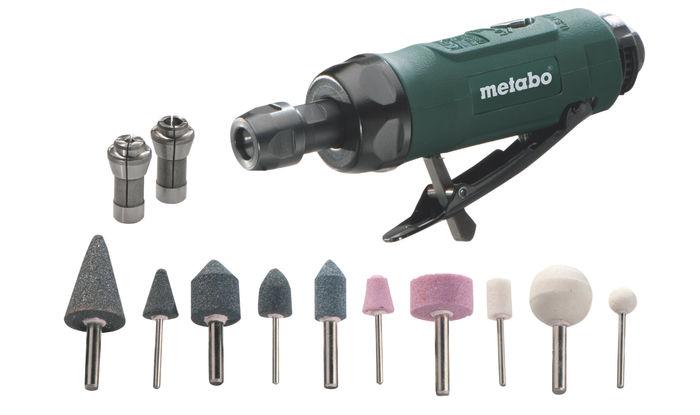 METABO DG 25 Set, Pneumatická přímá bruska