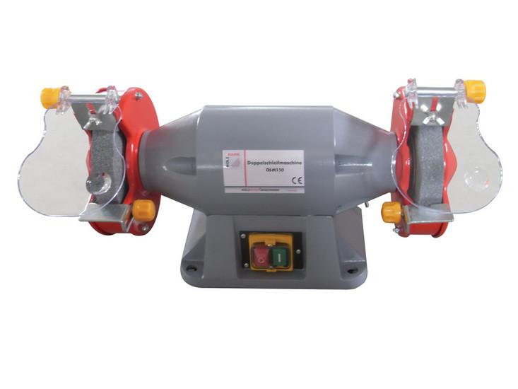 Holzmann, DSM 150, Dvoustranná stolní bruska Holzmann DSM 150, má bezúdržbový indukční motor s podpěťovou spouští