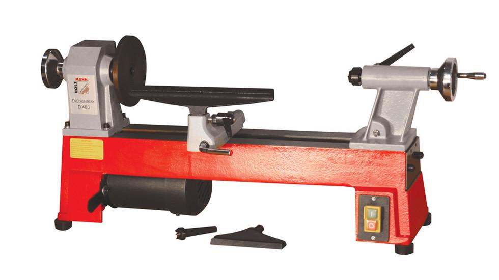 Holzmann, D 460F, Soustruh na dřevo Holzmann D 460F, s dlouhou podpěrou pro nástroje 300 mm a s rychloupínáním