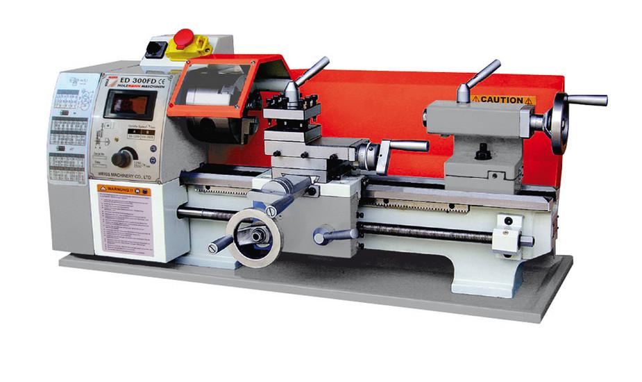 Holzmann, ED 300FD, Stolní soustruh Holzmann ED 300FD, pro řezání závitů nebo automatické soustružení