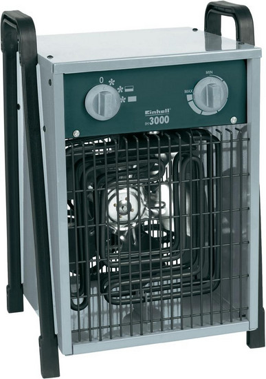 Elektrický přímotop Einhell EH3000, ventilace/1500/3000 W, šedá/černá