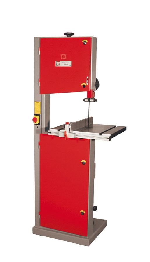 Holzmann, HBS 400, Pásová pila Holzmann HBS 400, hliníkové pravítko s měřítkem a rychloupínačem