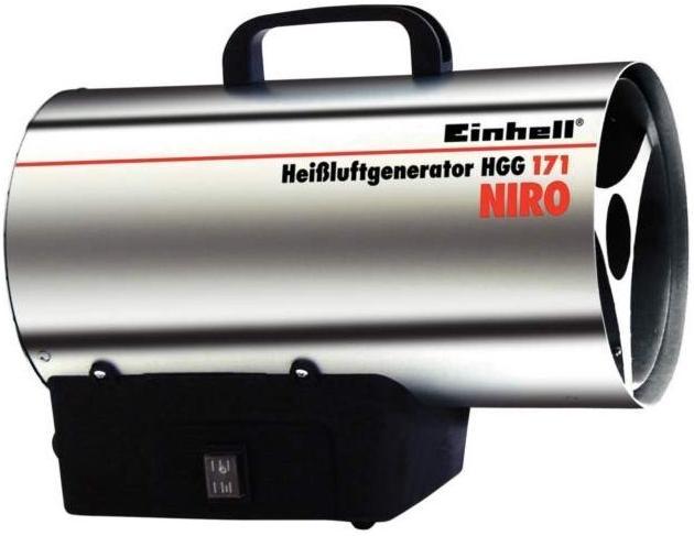 Einhell HGG 171 Niro, topení plynové