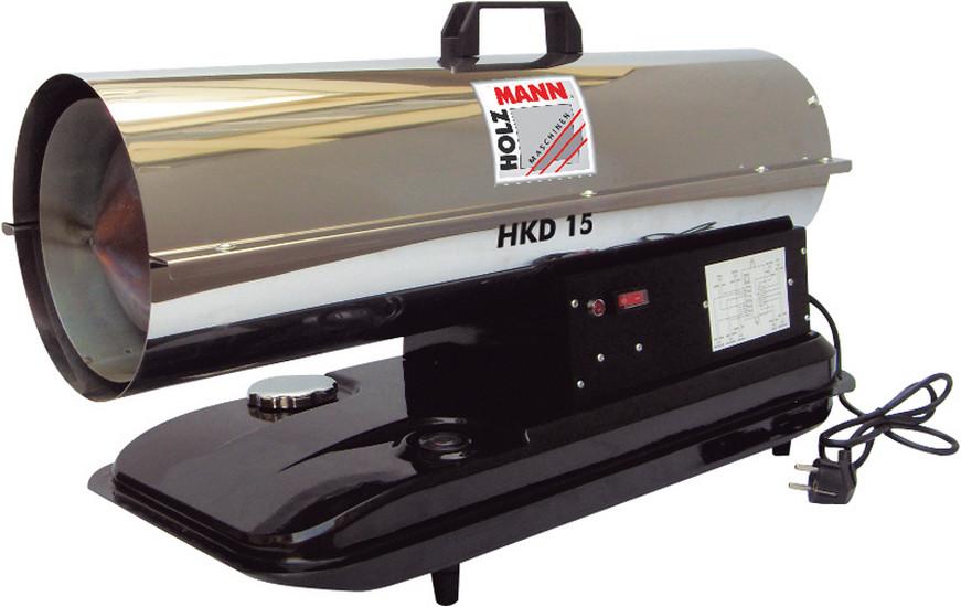 Holzmann, HKD 15, Naftový horkovzdušný ohřívač Holzmann HKD 15, jednoduché použití, spolehlivý v provozu