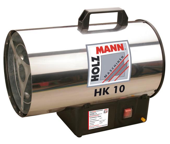 Holzmann, HK 10, Horkovzdušný ohřívač Holzmann HK 10, pojistka proti zhasnutí plamene se zpětnou vazbou
