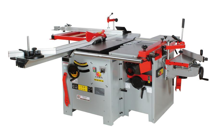 Holzmann, K5 315VF-2000, Pětioperační stroj Holzmann K5 315VF-2000, výkonný kombinovaný stroj s velkým podílem litiny a oceli