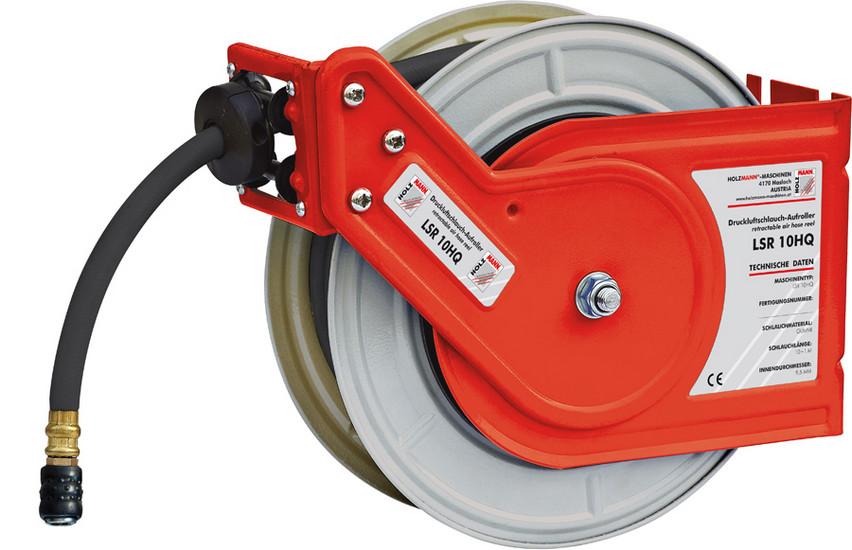 Holzmann, LSR 10HQ, Samonavíjecí buben Holzmann LSR 10HQ, automatický rovnoměrný navíjecí mechanismus