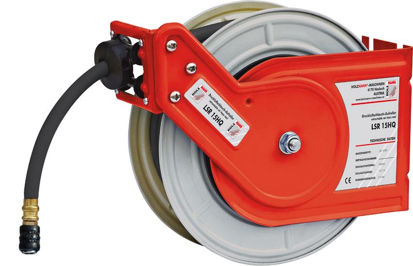 Holzmann, LSR 15HQ, Samonavíjecí buben Holzmann LSR 15HQ, automatický rovnoměrný navíjecí mechanismus