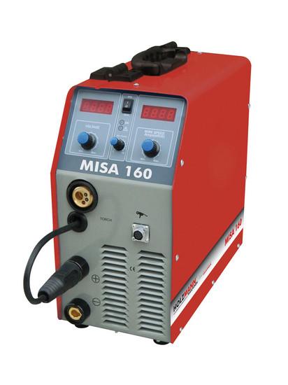 Holzmann, MISA 160, Svářecí invertor MIG/MAG Holzmann MISA 160, invertorová technologie