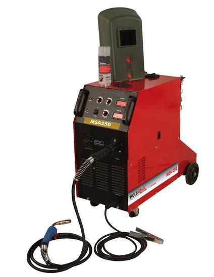Holzmann, MSA 250, Svářečka CO2 MIG/MAG Holzmann MSA 250, 10 úrovní výkonu
