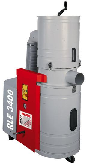 Holzmann, RLE 3400, Odsavač pilin a nebezpečného prachu Holzmann RLE 3400, určen pro všechny typy suchého dřevního prachu