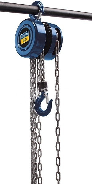 SCHEPPACH CB 01, Řetězový ruční kladkostroj