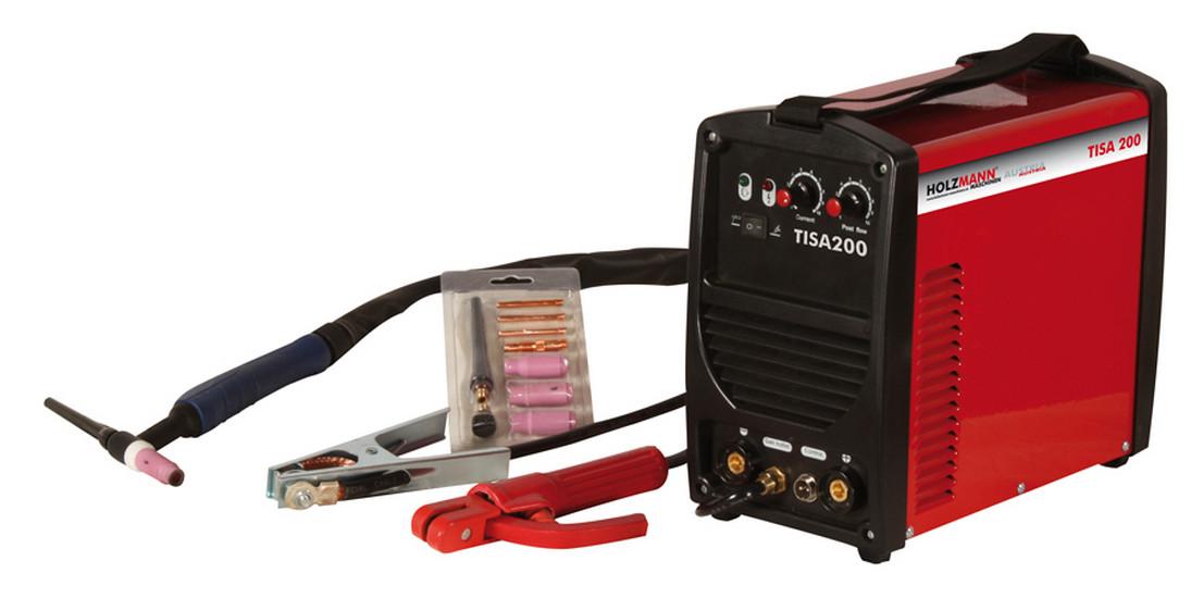 Holzmann, TISA 200, Svářecí invertor WIG/TIG Holzmann TISA 200, ochrana proti přehřátí a přepětí