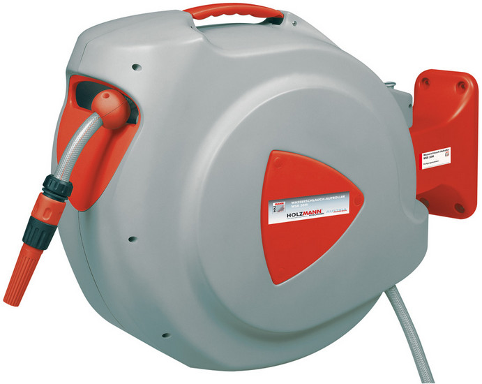 Holzmann, WSR 30M, Samonavíjecí hadice na vodu Holzmann WSR 30M, standard 10m tlaková hadice