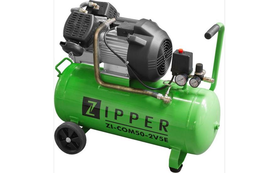 Holzmann, ZI-COM50-2V5, Kompresor Zipper ZI-COM50-2V5, se sníženým startovacím odporem a ochranou motoru