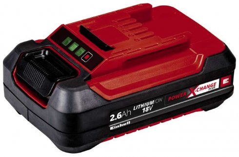 Baterie Power X-Change 18 V 2,6 Ah Aku Einhell Accessory