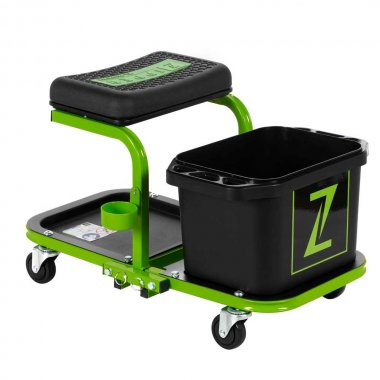 Mobilní montážní stolička s mycí nádobou Zipper ZI-MHKW5